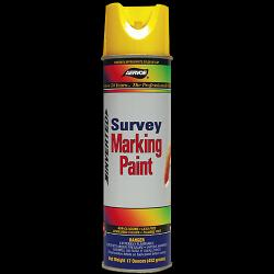 Paint, marking, survey, yellow