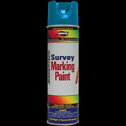 Paint, marking, survey, blue