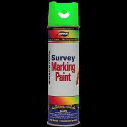 Paint, marking, survey, flor green