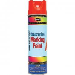 Paint, marking, construction, flor orange