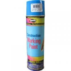 Paint, marking, construction, flor blue