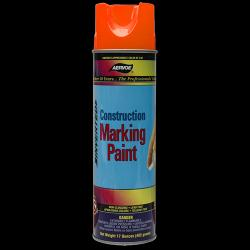 Paint, marking, construction, orange