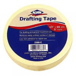 Drafting tape, 3/4 X 60yd