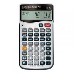 Calculator, construction master pro