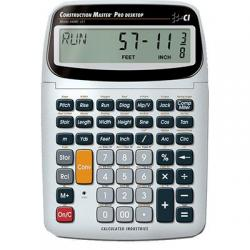 Calculator, construction masterr 5, pro desk model