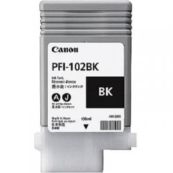 PFI-102BK, ink cartridge, dye black, 130ml