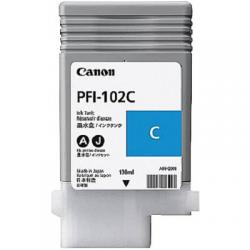 PFI-102C, ink cartridge, dye cyan, 130ml