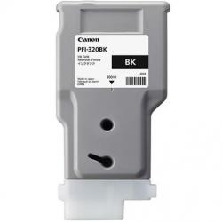 PFI-320BK, ink cartridge, pigment black, 300ml