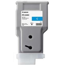 PFI-320C, ink cartridge, pigment cyan, 300ml