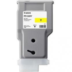 PFI-320Y, ink cartridge, pigment yellow, 300ml