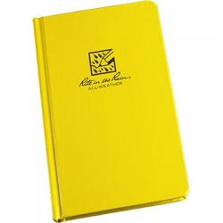 Field book, hardbound, all-weather, level