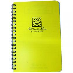 Field book, spiral notebook, all-weather, level