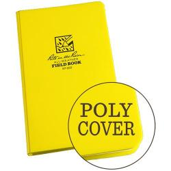 Field book, hardbound, polydura cover, all-weather, field