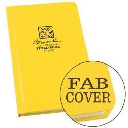 Field book, hardbound, fabrikoid cover, all-weather, field