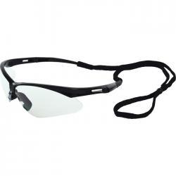 Protective Eyewear/Glasses, Octane black clear anti-fog