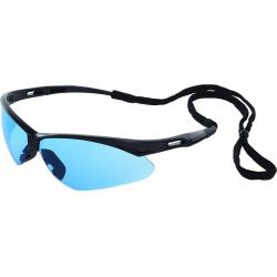 Protective Eyewear/Glasses, Octane black light blue