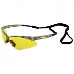 Protective Eyewear/Glasses, Octane Camo Amber