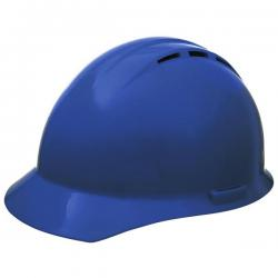 Americana Hard Hat, Standard Brim, Vented, 4pt Ratchet, Blue