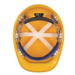 Ratchet replacement suspension, omega II, full brim hard hat