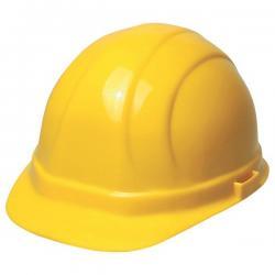 Hard hat, omega II mega, w/ratchet adjustment, yellow