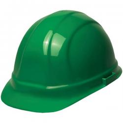 Hard hat, omega II mega, w/rachet adjustment, green