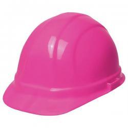 Hard hat, omega II mega, w/ratchet adjustment, Hi-Viz Pink