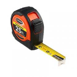 Tape measure, 25ft, 10ths/100ths