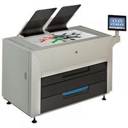 KIP 870, 4 roll network color print system with top stacking
