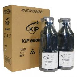 Black toner KIP 600 series, 2 x 500 gram cartridges/case