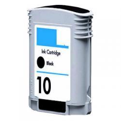 HP500, ink cartridge, black, #10, 69ml