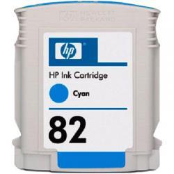 HP500, ink cartridge, cyan, #82, 69ml