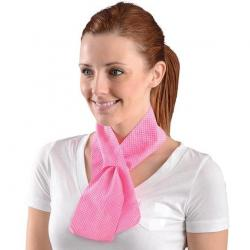MiraCool Hydrating Neck Wrap, Pink
