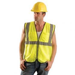 Vest, surveyor, mesh, class 2, yellow, size 2/3X