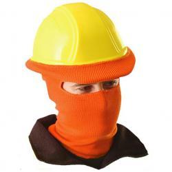 Classic full face knit tube liner, orange