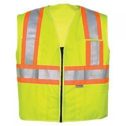 Vest, class 2, yellow, size L/XL