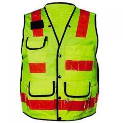 Vest, pro-style surveyor, premium solid, large