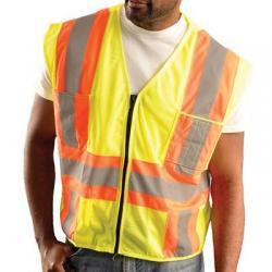 Vest, class 2, lime, 2x