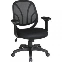 Chair, managers, mesh back