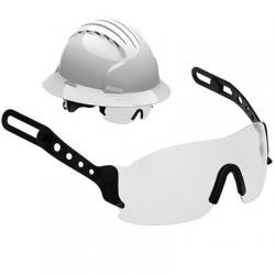 Eyewear for Evolution Deluxe hard hats, evospec, clear lens