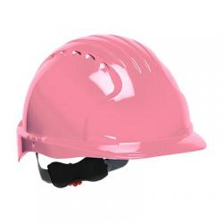 Hard hat, Evolution Deluxe, standard brim, pink