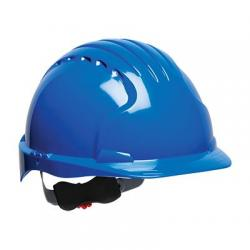 Hard hat, Evolution Deluxe, standard brim, blue