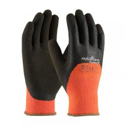 Gloves, powergrab, thermo, coating full fingers & knuckles, large