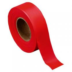 Tape, flagging, red