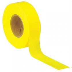 Tape, flagging, yellow glow