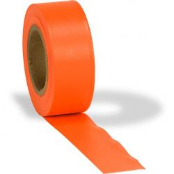 Tape, arctic flagging, orange glow