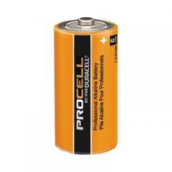 Batteries, duracell procell, alkaline, C