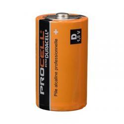 Batteries, duracell procell, alkaline, D