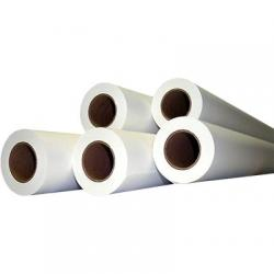 Inkjet mylar film, double matte, 34x125ft, 4mil