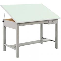 Base, drafting table, gray