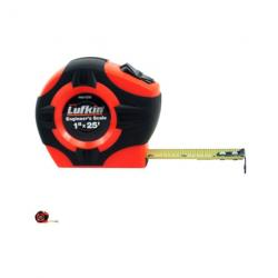 Tape measure, lufkin, hi-viz, 9ft, 1x25